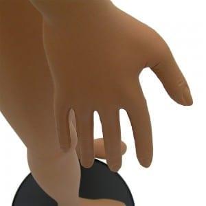 Hand Of Bendy Flexible Female Mannequin