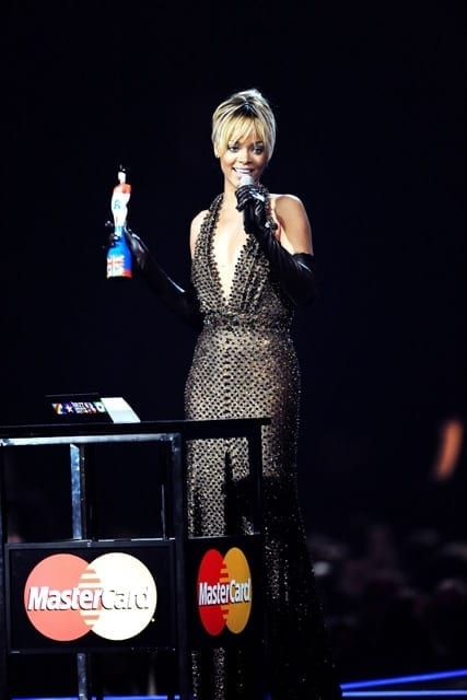 The Brit Awards at the O2 Arena, London - Feb 2012