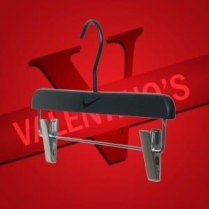 Laser engraved branded hangers for Nike Valentino's Displays Blog
