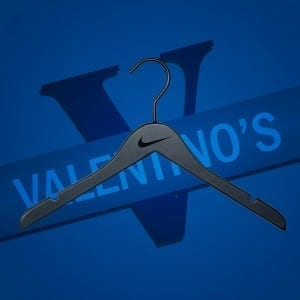 Engraved Wooden Coat Hangers UK for Nike