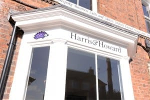 Harris and Howard Bespoke shop front