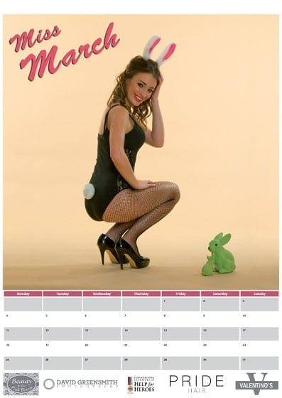 March - Help for Heroes Calendar