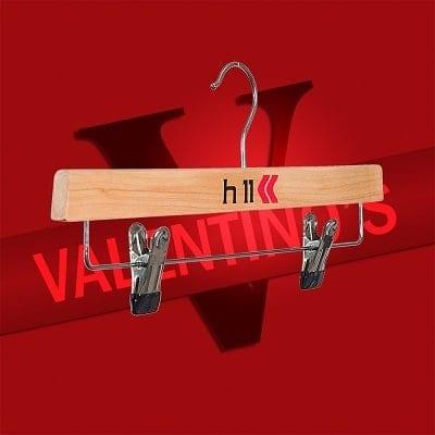 Valentino's print clothes hangers & coat hangers Valentino's Displays Blog