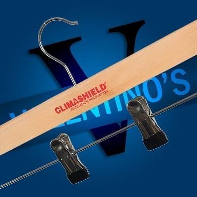 Coat Hangers Customised with Logo