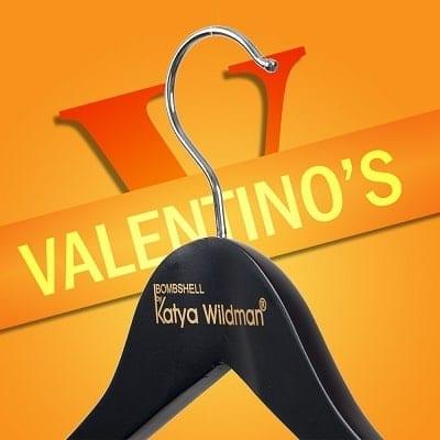Printed hangers Bombshell by Katya Wildman Valentino's Displays Blog