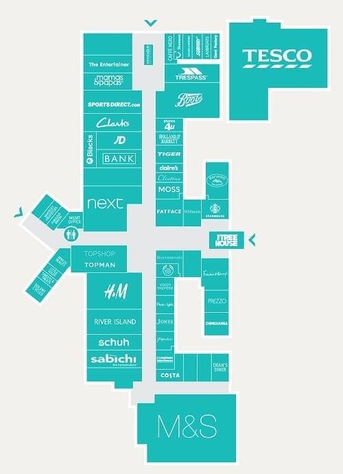 Whiteley Village Centre Plan