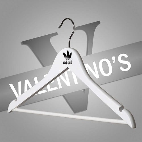 Customised Coat Hangers for Adidas