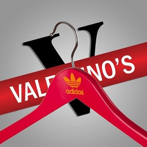 Bespoke Hangers with Custom Logo for Adidas