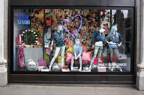 High Streets of Great Britain Window Display - Selfridges