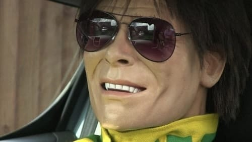 Sir Cliff Richard doll used as honorary security guard Valentino's Displays Blog