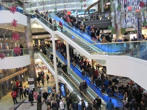 West Quay Shopping Centre - Southampton, UK
