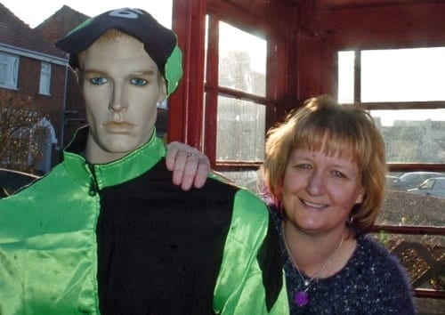Cecil Mannequin with Owner