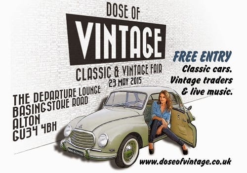 Dose of Vintage Classic and Vintage Fair - Alton, Hampshire