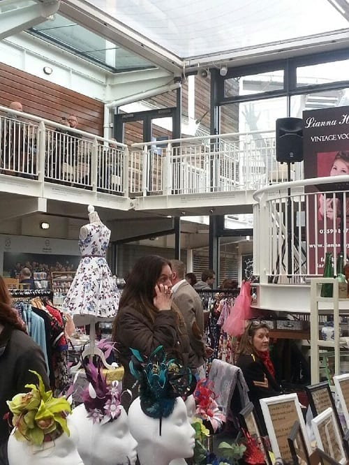 Yellow Vintage Craft Fair 2015 - Southampton