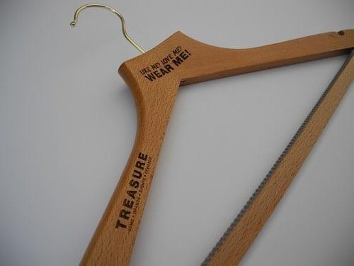 Laser Engraved Cloth Hangers