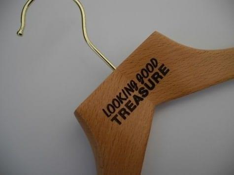 Engraved Wooden Hangers