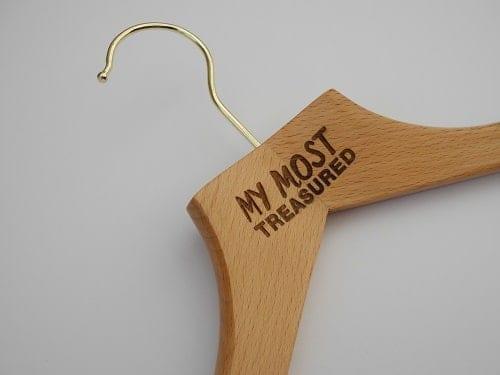 """Logo Hangers - Hangers, UK - """"My Most Treasured"""""""