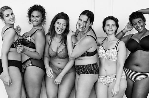 The new #ImNoAngel campaign by fashion label @lanebryant