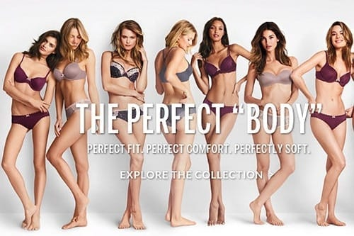 Victoria's Secret 'Perfect Body' campaign