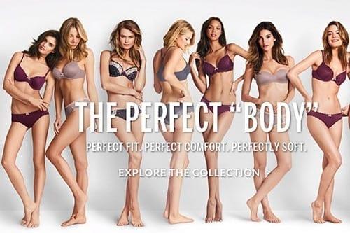 Victoria's Secret 'Perfect Body' campaign
