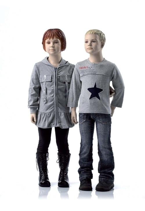 Child Sculpted Hair Mannequins Valentino's Displays Blog