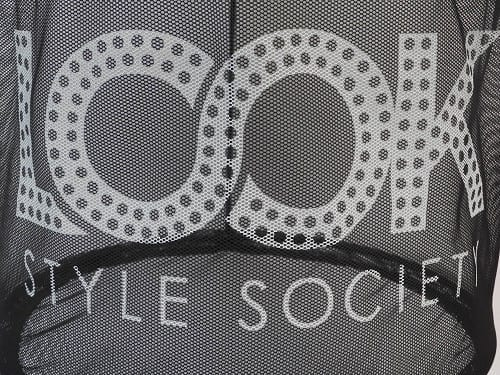 Printed Eco Shopping Bags for Look Style Society