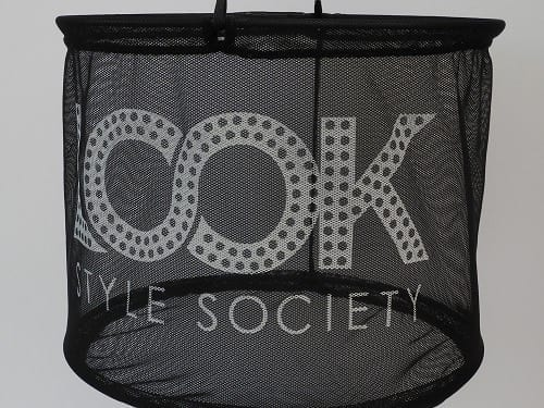 Mesh Shopping Baskets Printed For Look Style Society