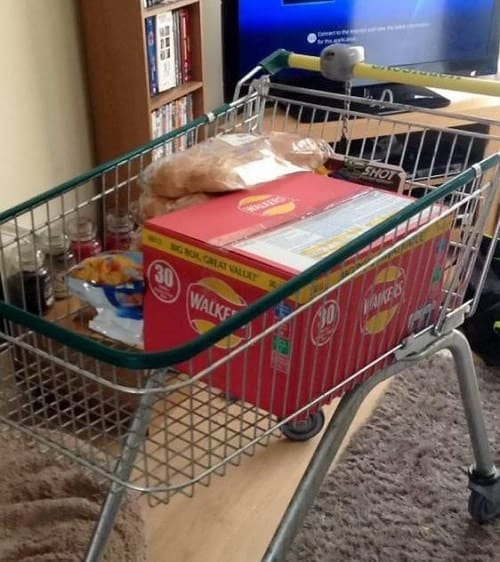 Shoppers steal trolleys to avoid 5p carrier bags Valentino's Displays Blog