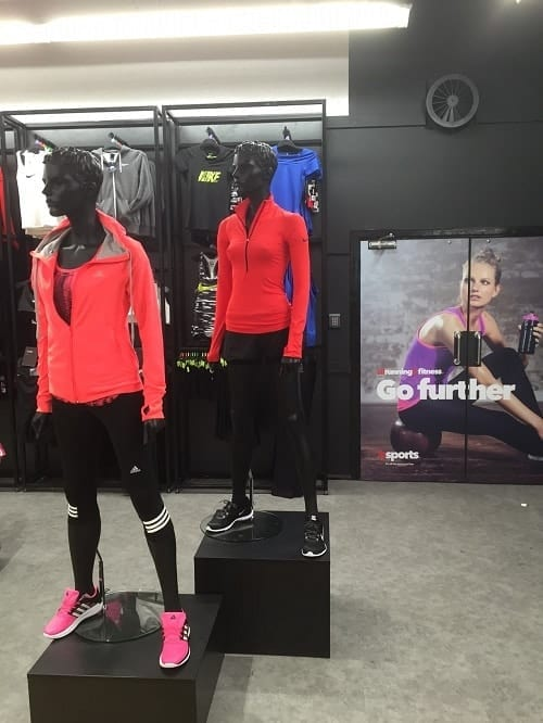 Female Fitness Sports Mannequins - Valentino's Displays
