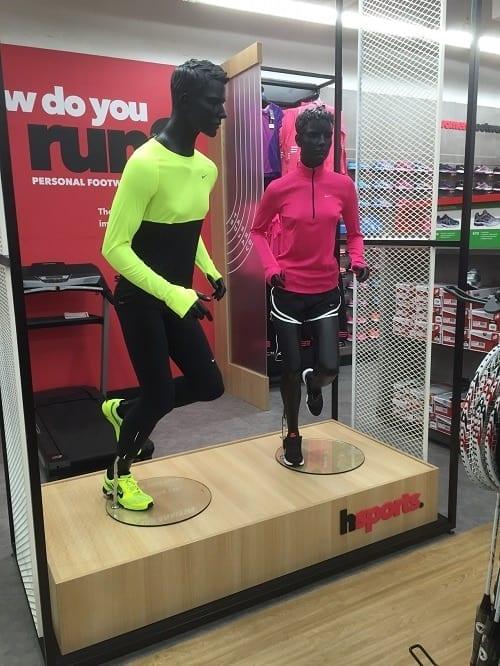 Female Running Sports Mannequins - Valentino's Displays