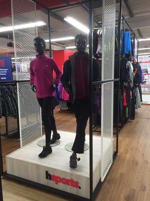 Walking Female Sports Mannequins - Valentino's Displays