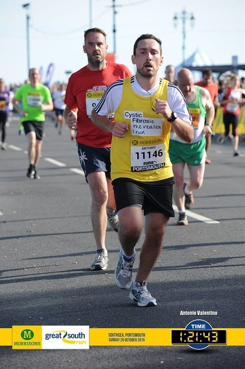Finishing The Race - Great South Run 2015