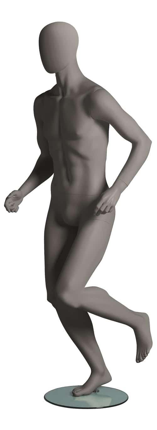 Sport Male Running Mannequins
