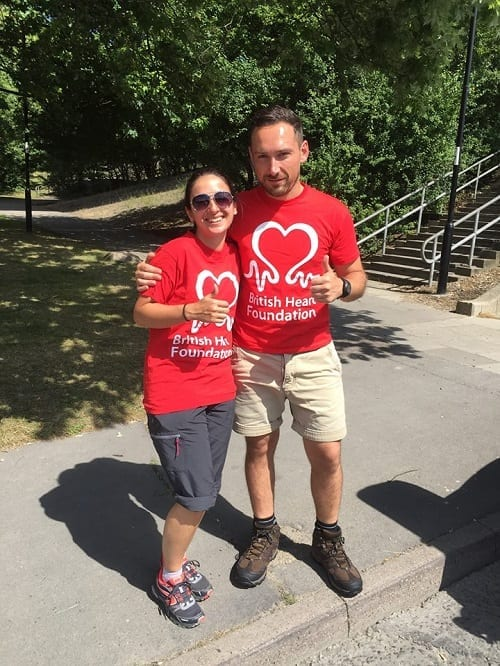 British Heart Foundation fundraising target reached for South Coast Challenge