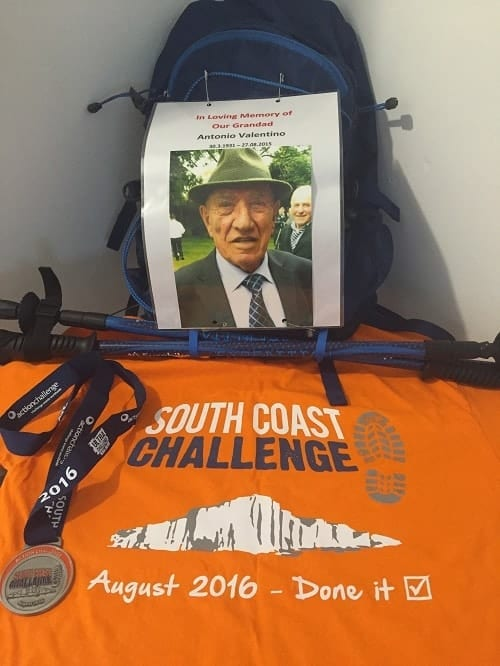 54km Charity trek completed for The British Heart Foundation Valentino's Displays Blog