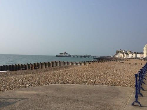 along eastbourne seafront #southcoastchallenge