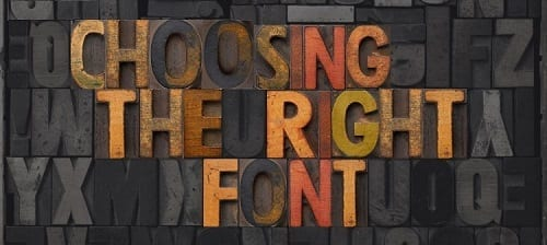 Why is Font Important for Your Promotional Materials?