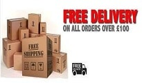 Free UK Delivery Over £100