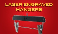 Custom Bespoke Coat Hangers UK