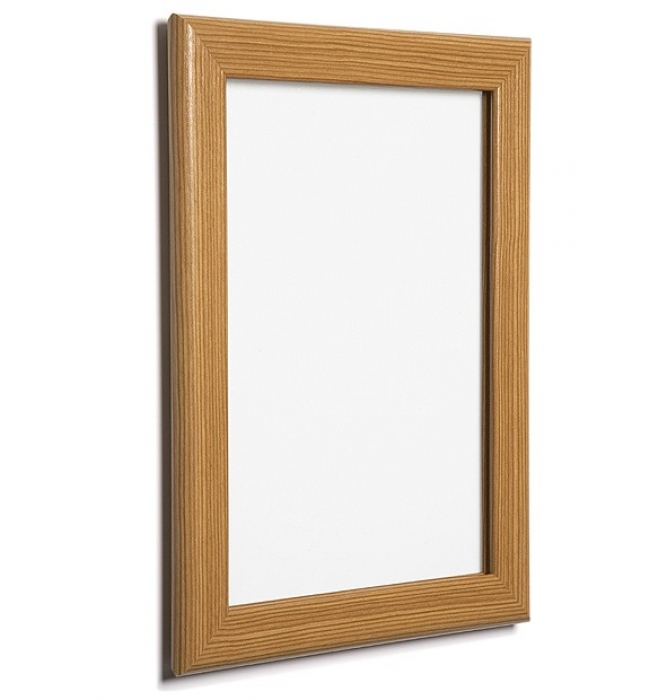 wood poster snap frame a3 mitred 32mm