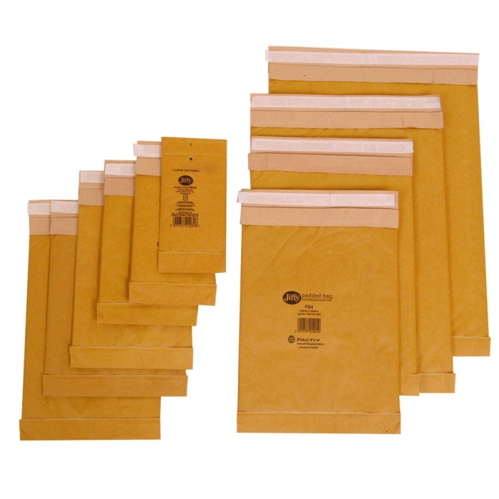 Gold Self Adhesive Postal Jiffy Bags A6 120mm X 210mm