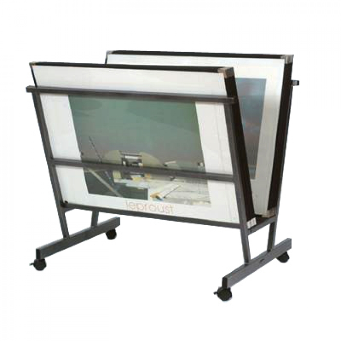 Poster Browser Landscape Display Stand Amp 15 Sleeves 30 X