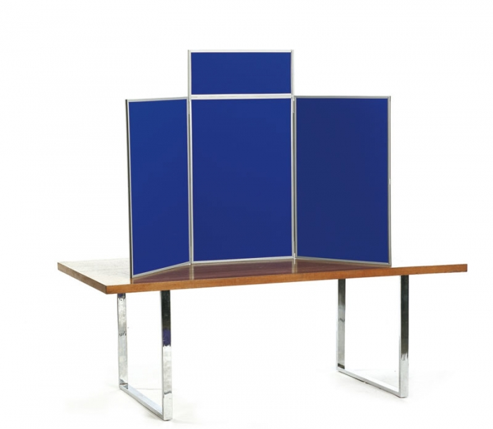 Exhibition Display Table : Folding maxi table top exhibition display and carry bag