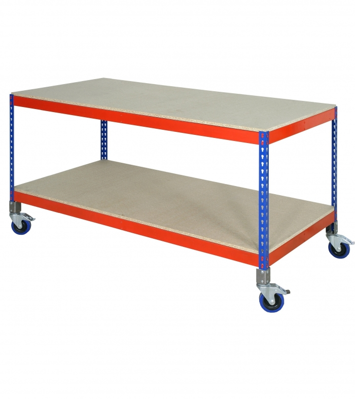No Frills Workbench 4 Steps With Pictures: Mobile Workbench 915 X 1525 X 762 LD