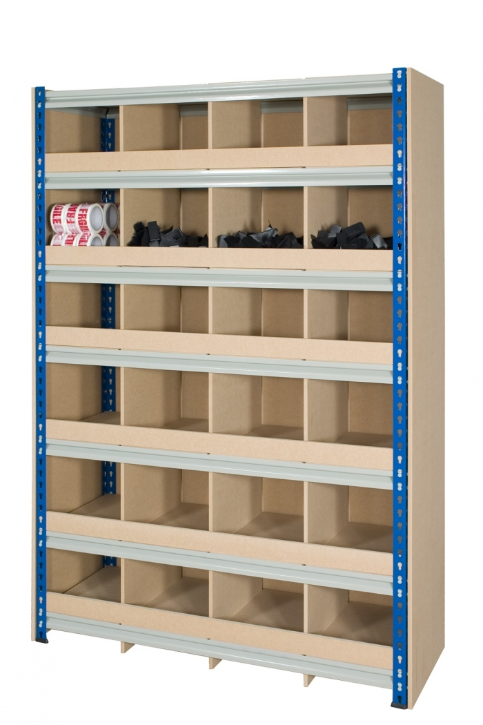 Pigeon hole storage 1830mm x 1525mm x 457mm for Storage bay