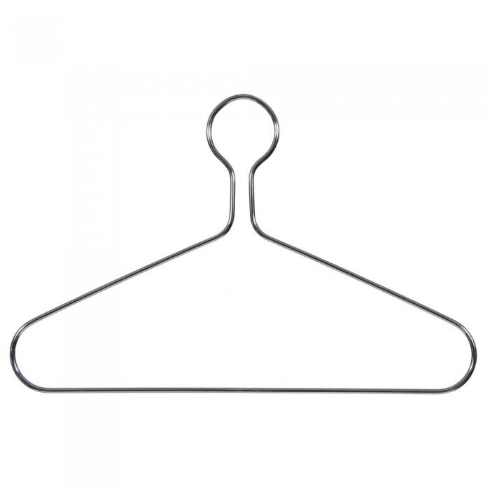 Heavy Duty Chrome Captive Clothes Hangers Big Metal Hangers